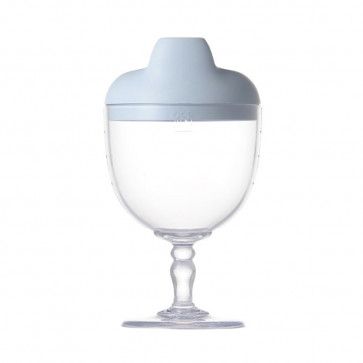 Reale  Sippy Wine Cup / Sommelier / Baby Blue No Box