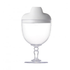 Reale  Sippy Wine Cup / Sommelier / Pale White